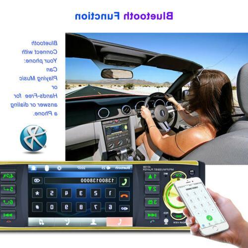"4.1"" Bluetooth Audio MP3 FM TF"