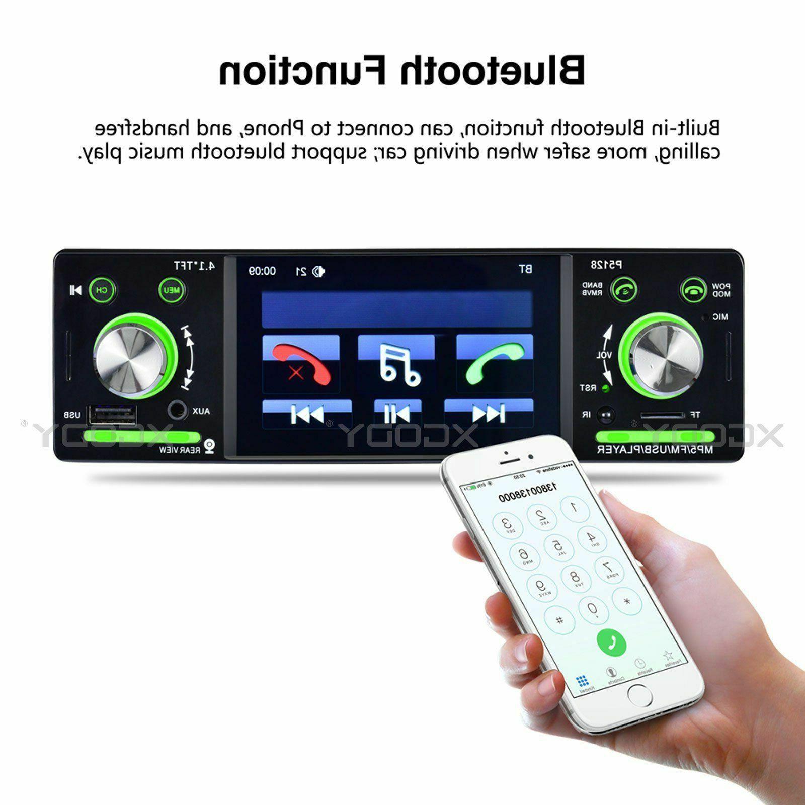 """4.1"""" Stereo MP5 FM MP3 Din MP4 1080P"""