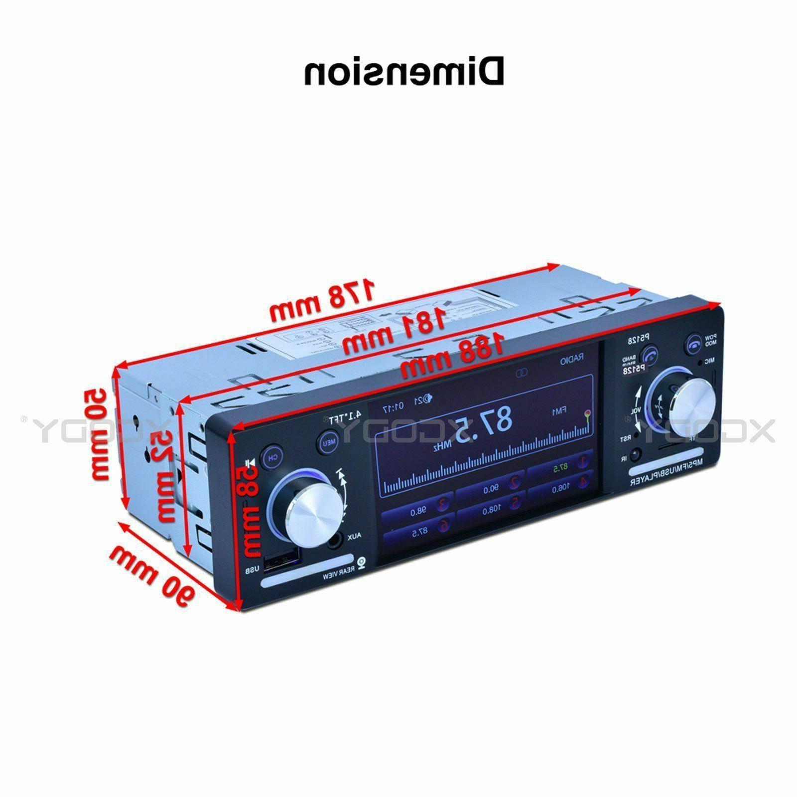 "4.1"" MP5 FM Din"