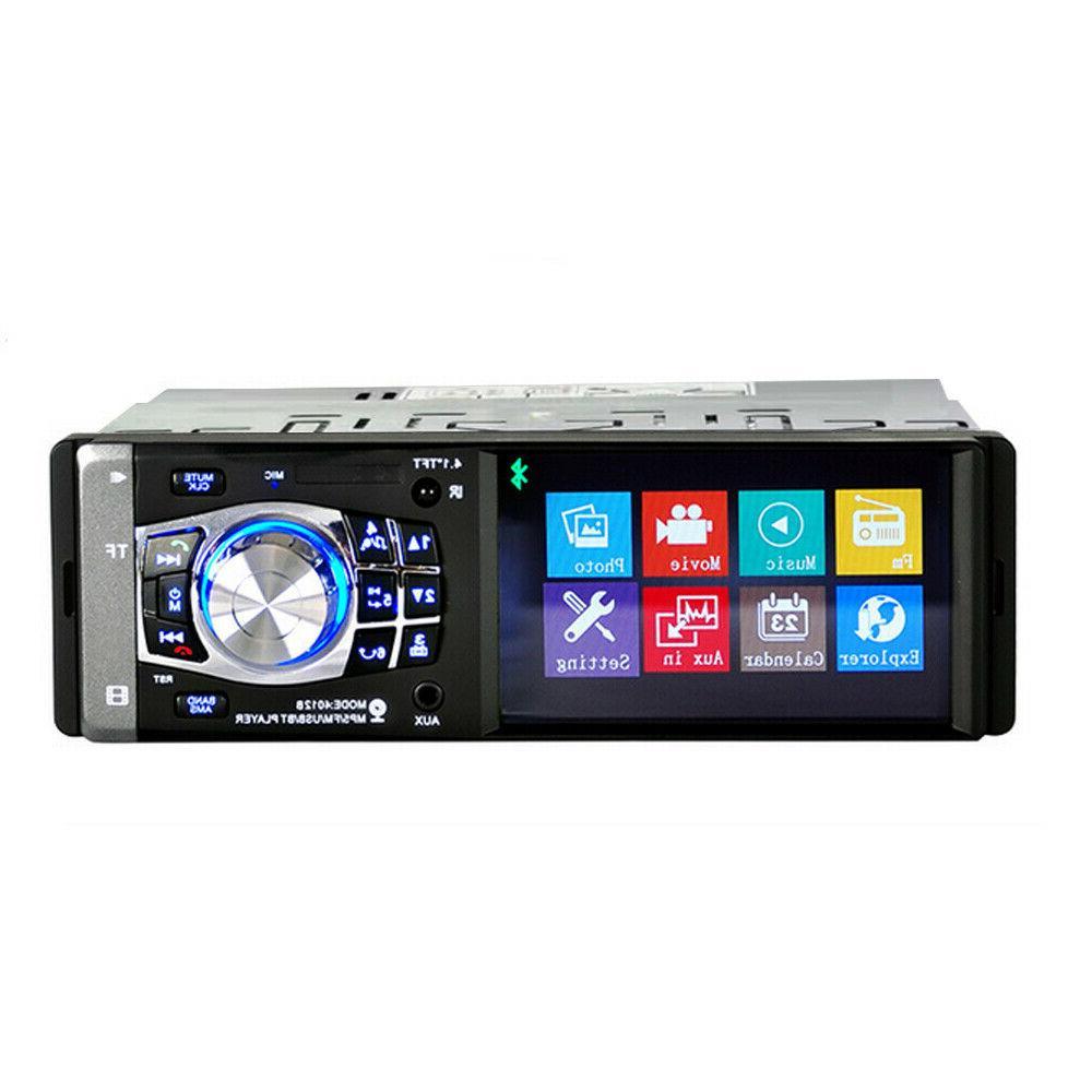 "4.1"" Single Car MP5 Player Bluetooth Radio AUX"
