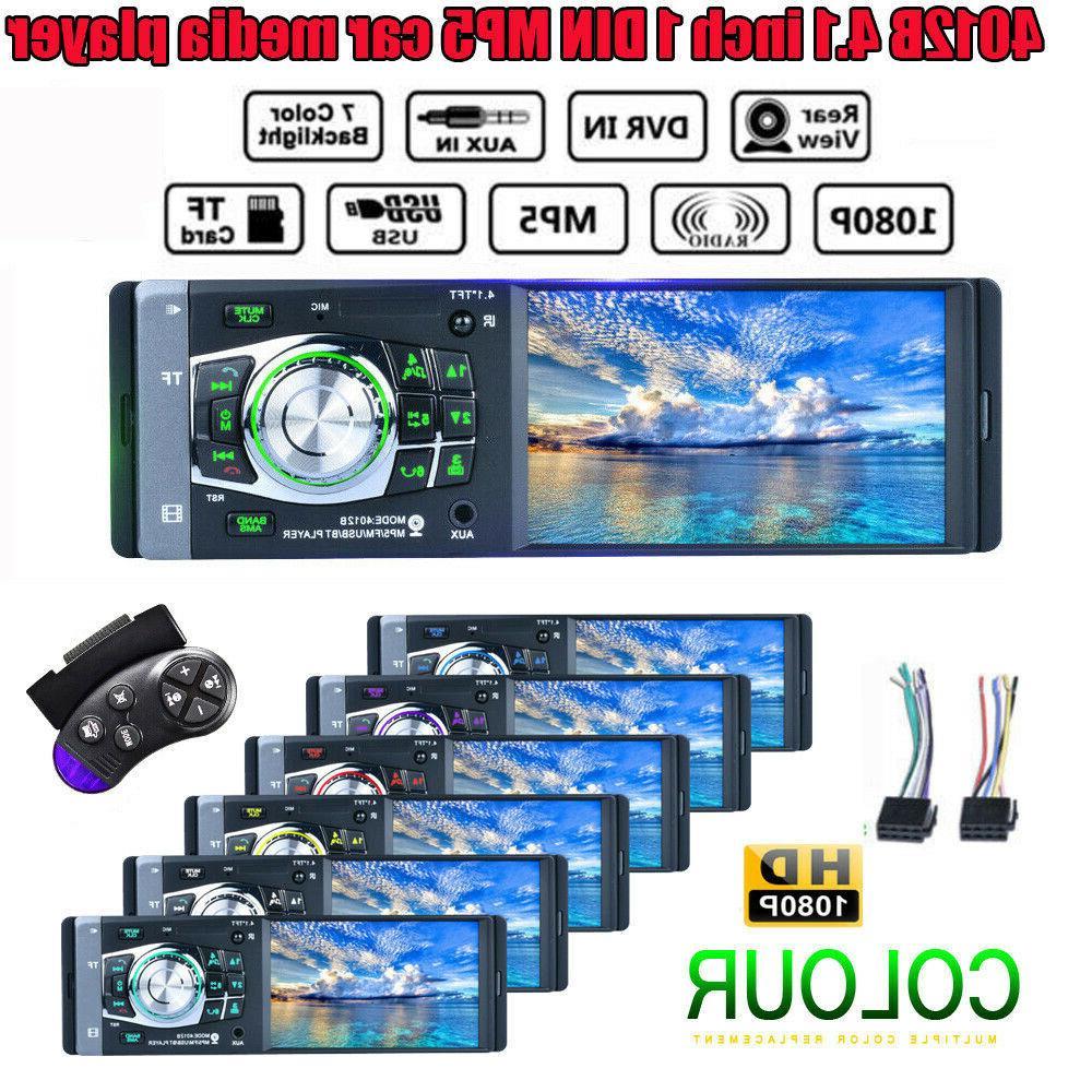 """4.1"""" HD Car Player FM Radio AUX"""