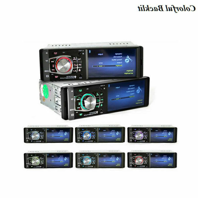 MP3 Player Radio HD Stereo USB AUX Rear Camera