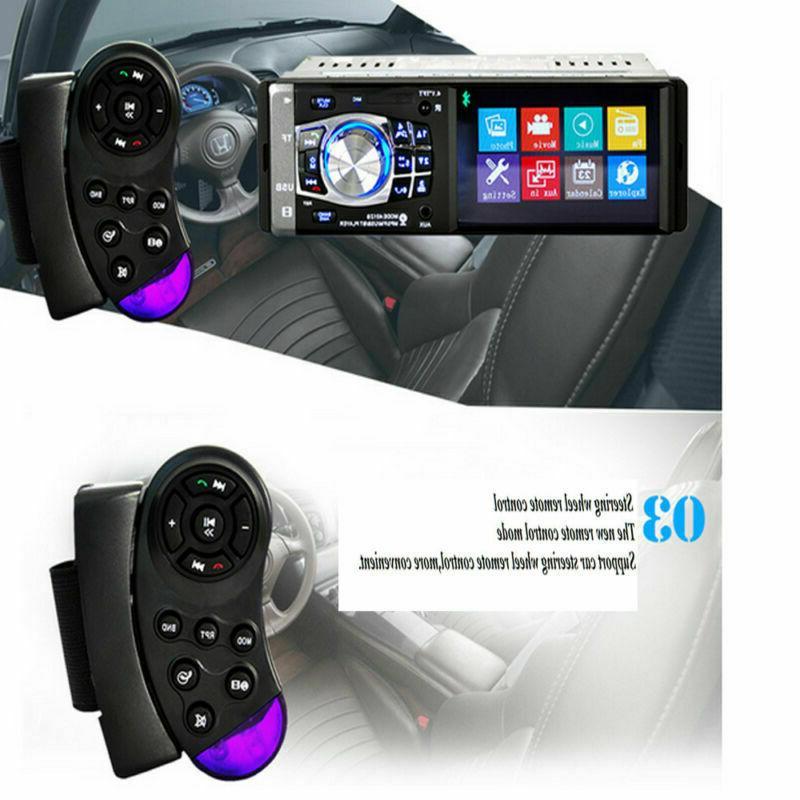 MP3 Radio HD Stereo USB AUX Rear