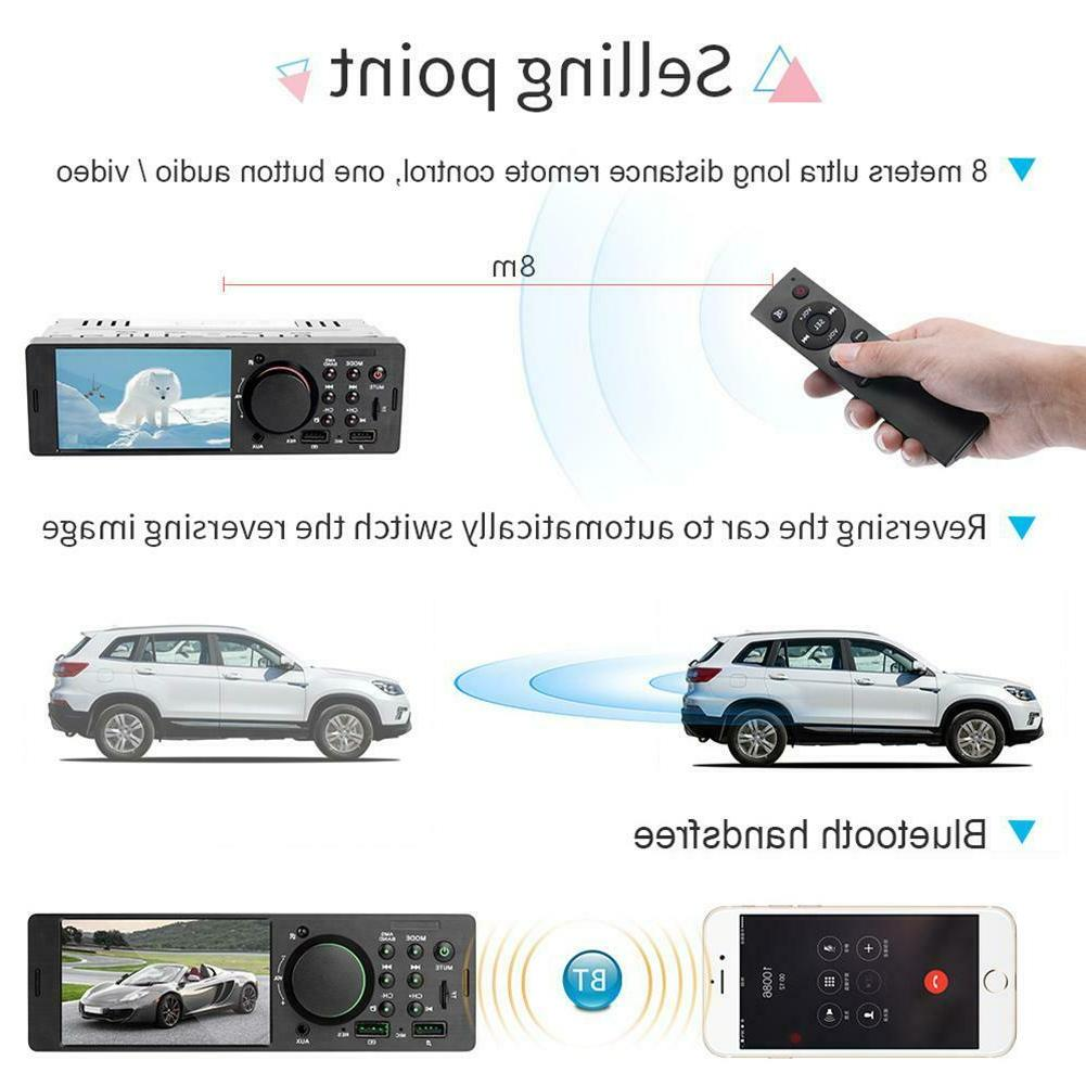 4.1 inch TFT HD Car Radio BT4.0