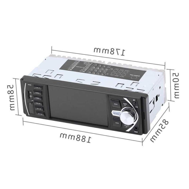 4.1 inch Car Radio Bluetooth 1 SD USB FM Audio HD Camera