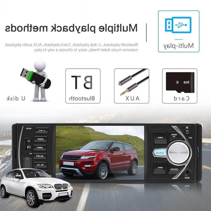 4.1 inch Radio MP3/5 Player 1 DIN USB FM Audio HD