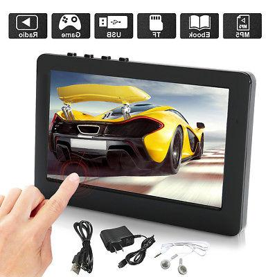 4 3 touch screen 8gb mp3 mp4