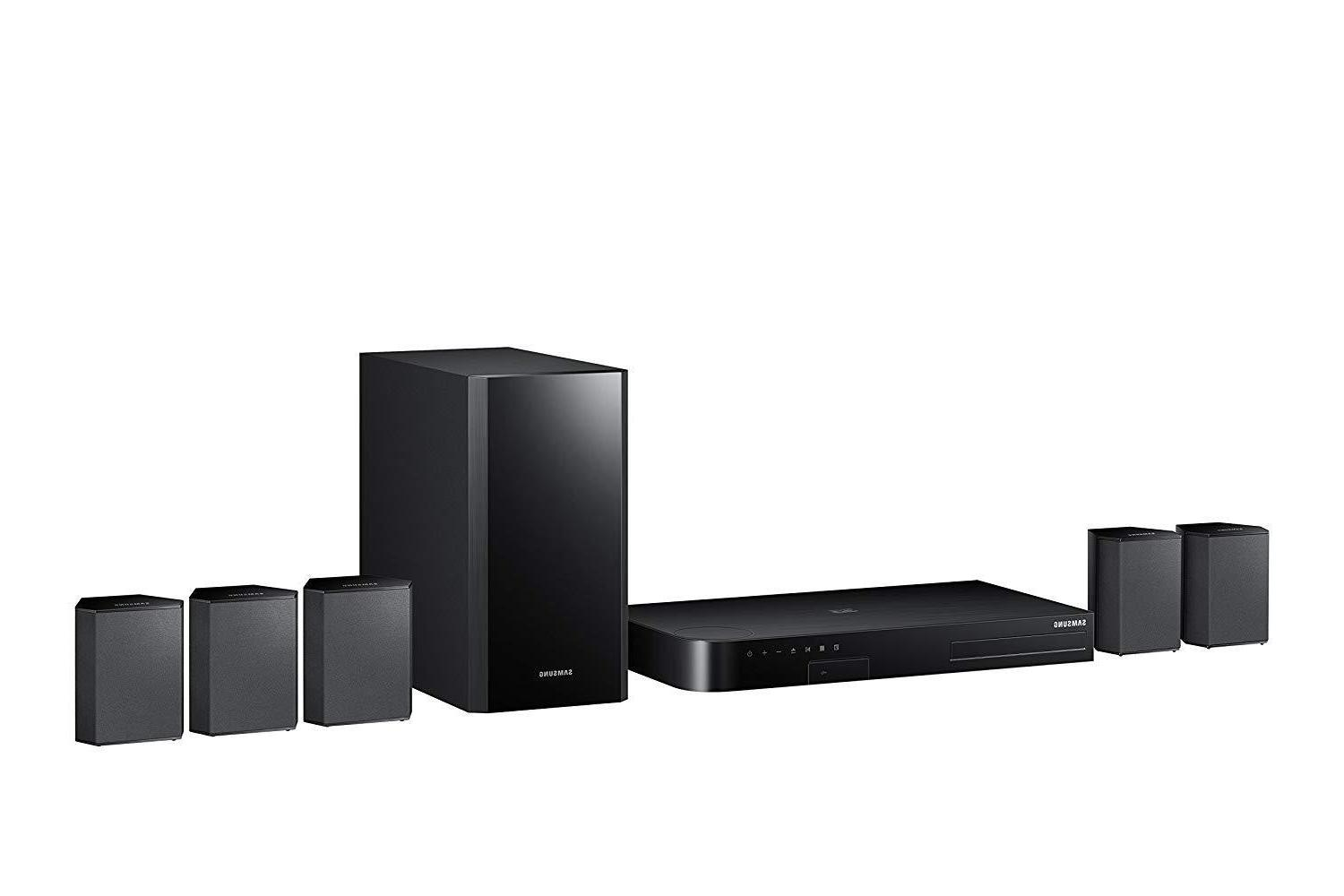 Samsung 5.1 Channel Home Theater System Surround Sound Blu-R