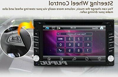 EinCar Inch Universal Double 2 Din Dash Player GPS