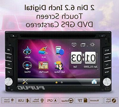 EinCar Universal Double Din Dash Player GPS USB