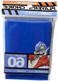 Players Choice 60 Count Blue Yugioh Small Deck Protector Car