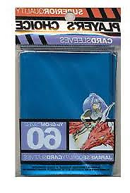 Players Choice 60 Count Mettalic Blue Yugioh Small Deck Prot