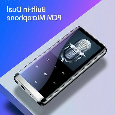 64GB bluetooth MP3 Player HIFI Sport Music Speakers MP4 Media USA!