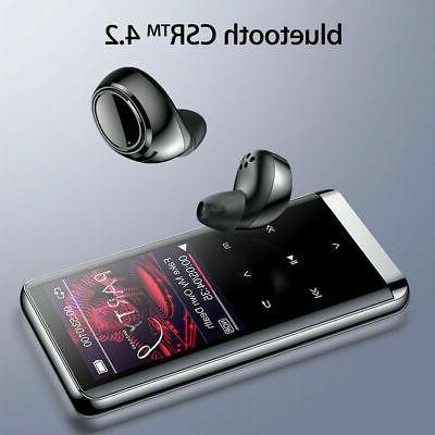 64GB bluetooth MP3 HIFI Music Speakers MP4 USA!