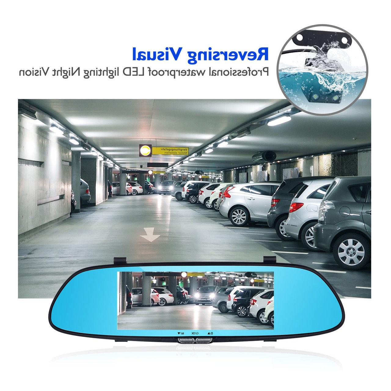 7'' Touch Screen Rear Camera