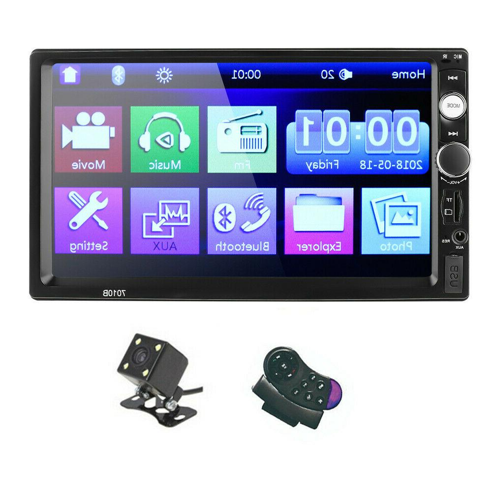 Touch Screen Bluetooth 2din&Camera