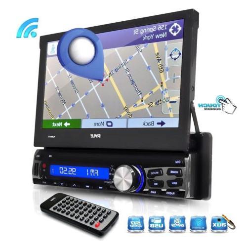 "PYLE 7"" GPS NAVIGATION PLAYER CAR STEREO RADIO"