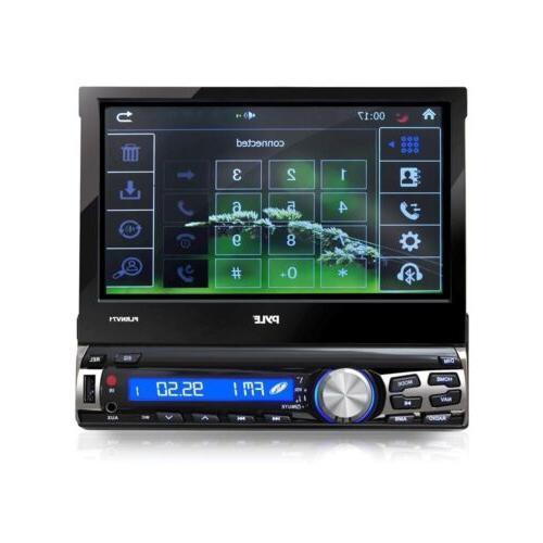 "PYLE 7"" GPS NAVIGATION BLUETOOTH MP3 PLAYER CAR STEREO FM RADIO RECEIVER"