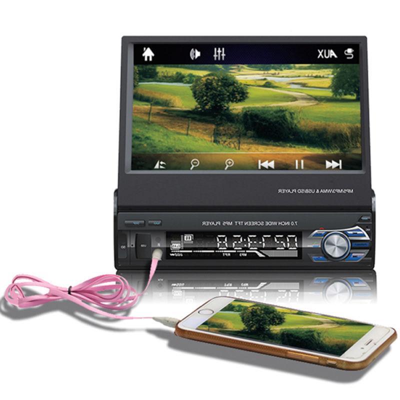 "7"" Single 1DIN Car Player GPS Navi"