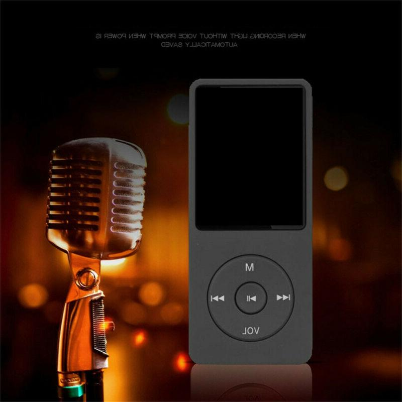 70 Hours MP4 Lossless Sound Music Player Earphone