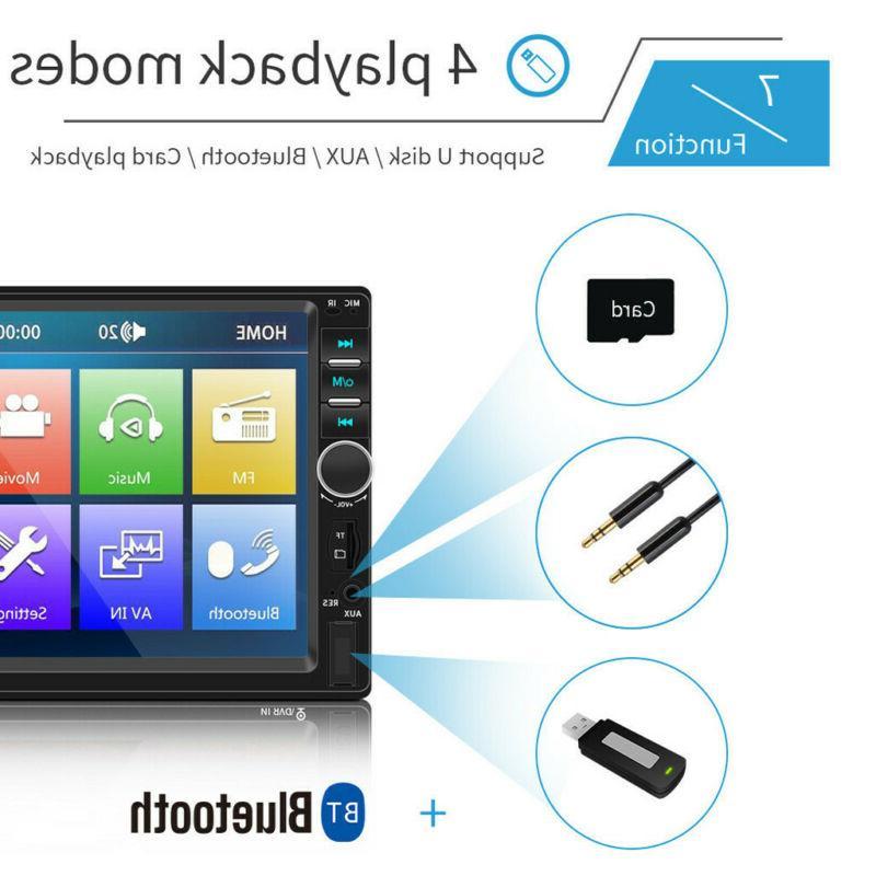 7 Inch LCD MP5 Player BT Stereo Radio