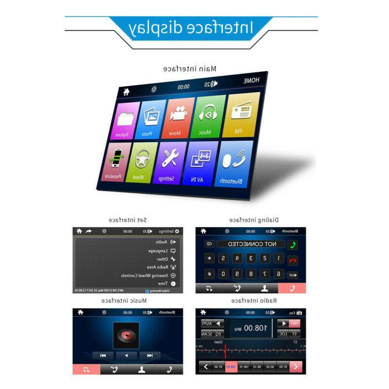 7 LCD Car Player BT Radio
