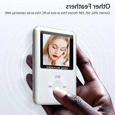 "8GB-32GB Digital MP3 Player 1.8"" Video Radio FM US"