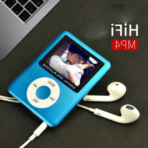 "8GB-32GB MP4 Player 1.8"" Video Radio FM"