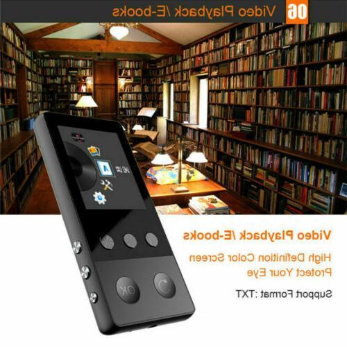 8GB Bluetooth MP4 Player R7O0U