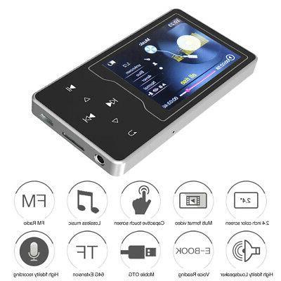 "RUIZU 8GB MP3 /4 Player 2.4"" Hifi Lossless Audio Video Music"