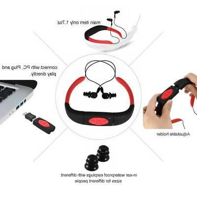 8GB Red Player IPX8 Wireless