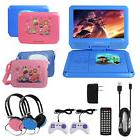 """KOCASO 9"""" Portable Kids DVD Player With Headphones Game Cont"""