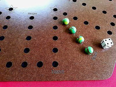 Aggravation, wa board game with backing, Wood, Engraved