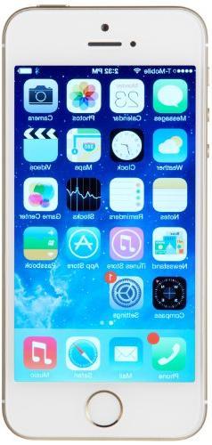 Apple iPhone 5s 16GB Verizon + Unlocked GSM 4G LTE Smartphon