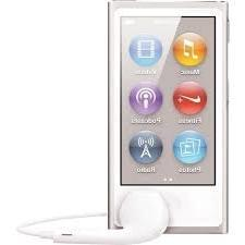 Apple iPod nano 16GB Silver  with Generic Earpods and USB Da