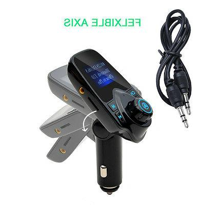 Bluetooth Car Transmitter Wireless USB
