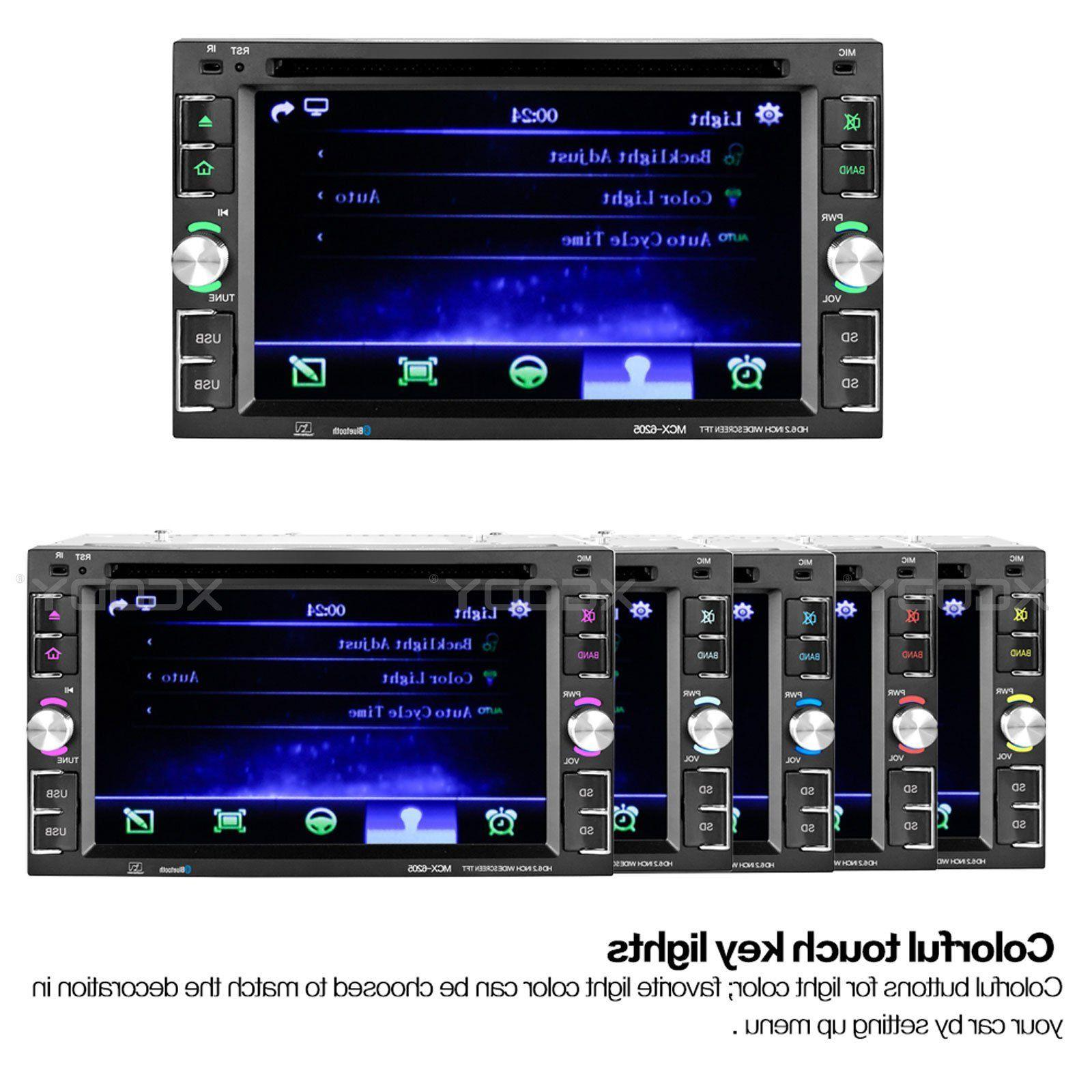 Car CD MP5 Player Touch + Rear