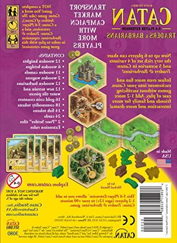 Catan: and 5-6 Extension