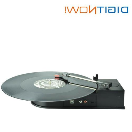 DIGITNOW!Portable USB Vinyl Turntable LP Record Player Vinyl
