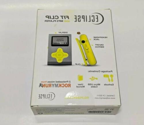 ECLIPSE SL/YW MP3 Player