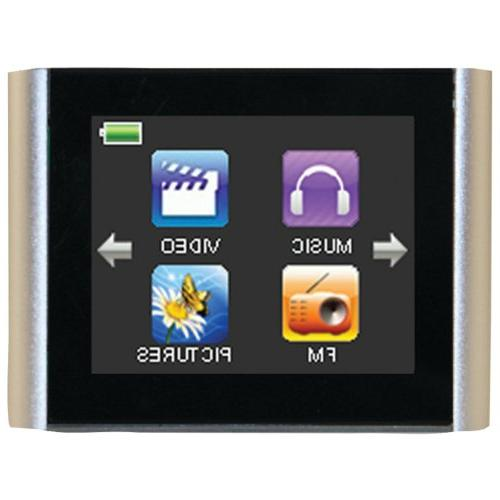 "Eclipse T180 1.8"" 4GB MP3 Clip Style Digital Audio LCD Video"