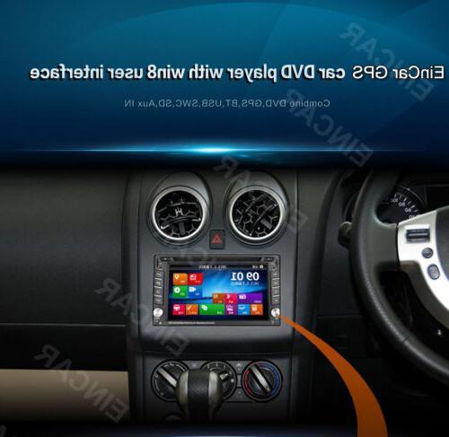 EinCar Double DVD Head GPS Navi Bluetooth RDS