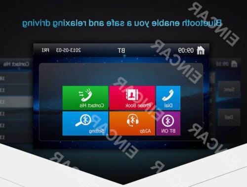 EinCar Double DVD GPS Navi Bluetooth RDS