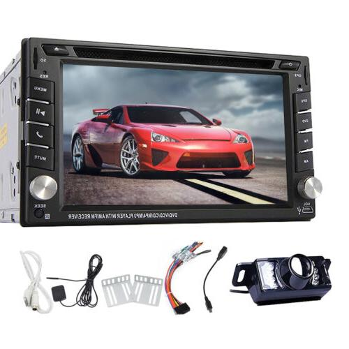 EinCar 2Din DVD Player Head GPS Bluetooth Radio