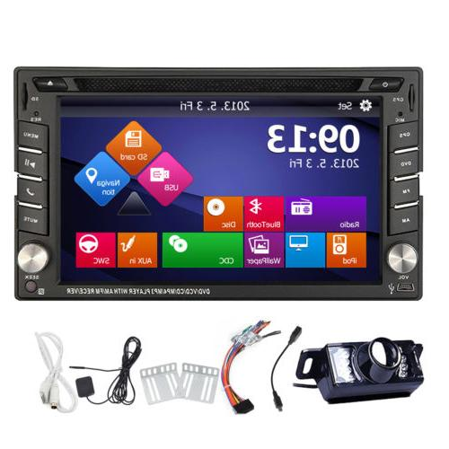 EinCar Double 2Din Car DVD Player Head Unit GPS Navi Bluetoo