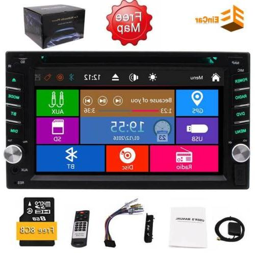 2Din Car DVD Subwoofer Ipod Touchscreen SWC