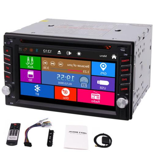 Eincar 7'' GPS 2Din Car Player Subwoofer Ipod SWC