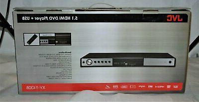 JVC XV-Y430B All Region Code Free HDMI DVD Player 5.1 Channe