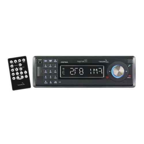 Lanzar AQCD60BTB AM/FM-MPX Marine Face Radio CD/SD/MMC/USB Player & Bluetooth Wireless
