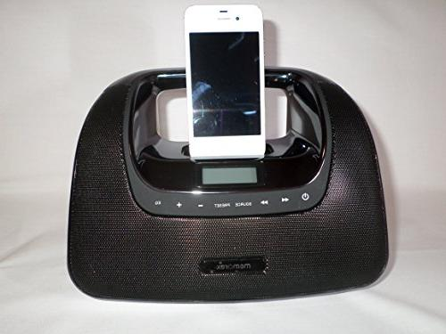 Memorex Move Portable w/Docking Station for iPod/iPhone w/FM & Remote